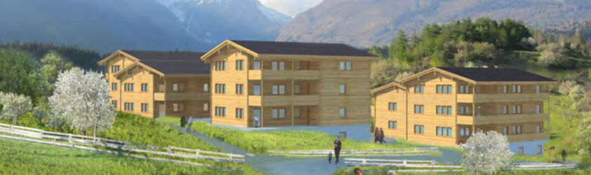 Wohnbauprojekt Ernen