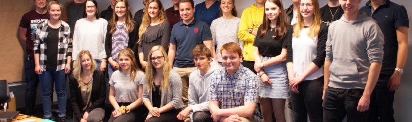 Teilnehmer des Jugendforums der SAB 2019 (aus den Kantonen Wallis, Graubünden Uri, und Luzern)-min